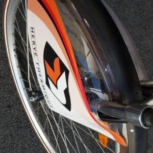 Gardes-boues de vélo publicitaires